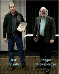 Karl Stauty and Ranger Kidwell-Ross